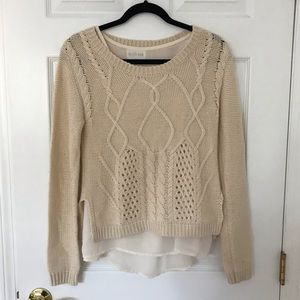 Olive + Oak Sweater (removable tank top)